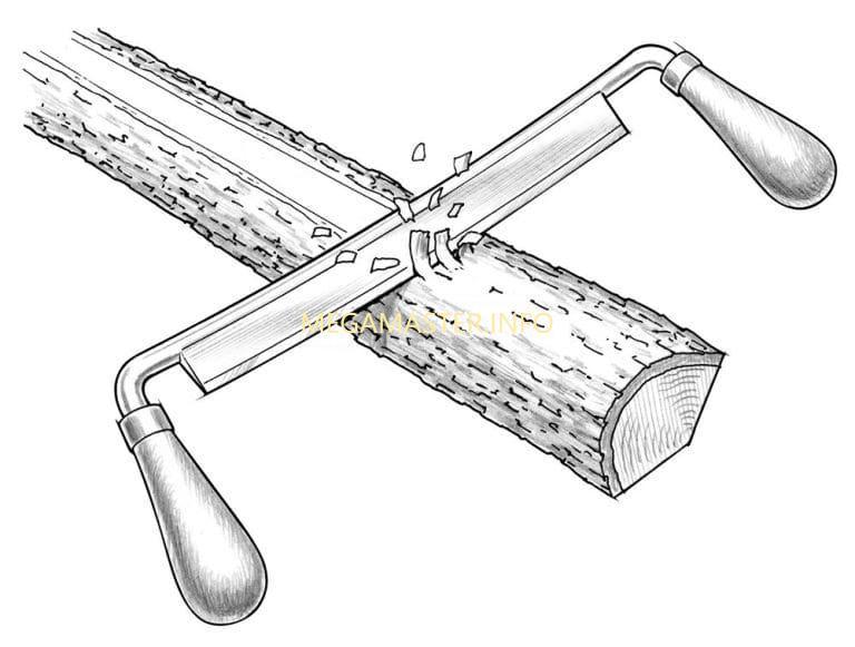 Делаем заготовку лука