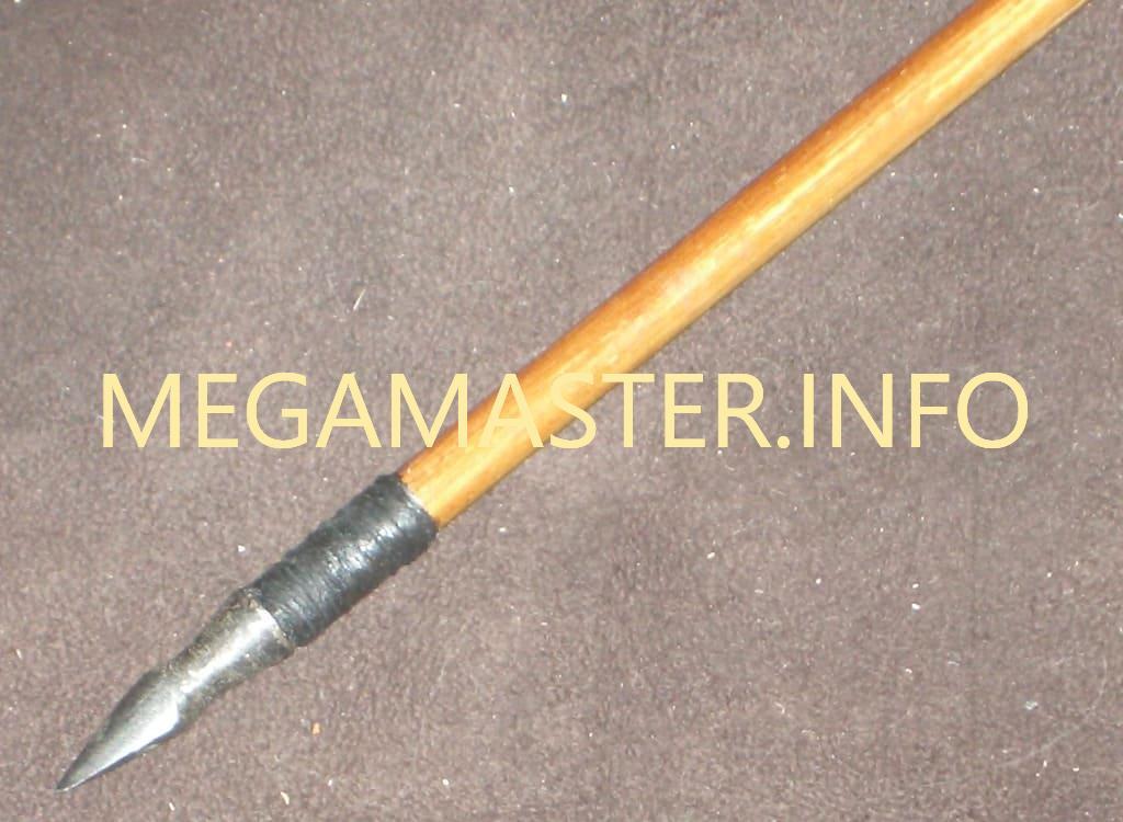 Стрела для лука с металлическим наконечником