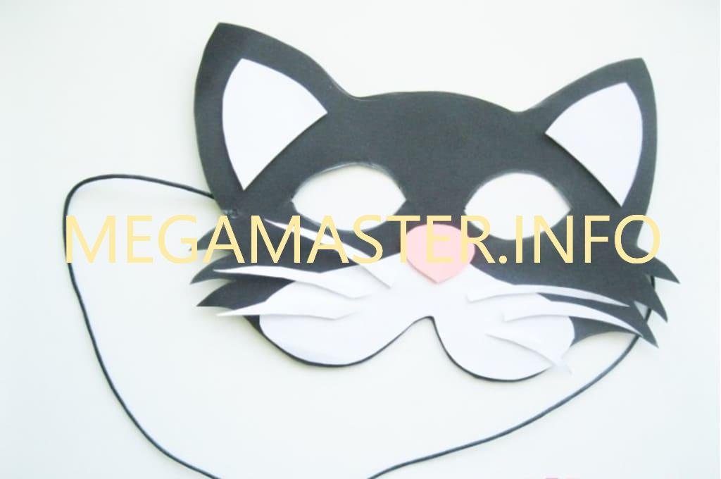 Готовая маска с персонажем