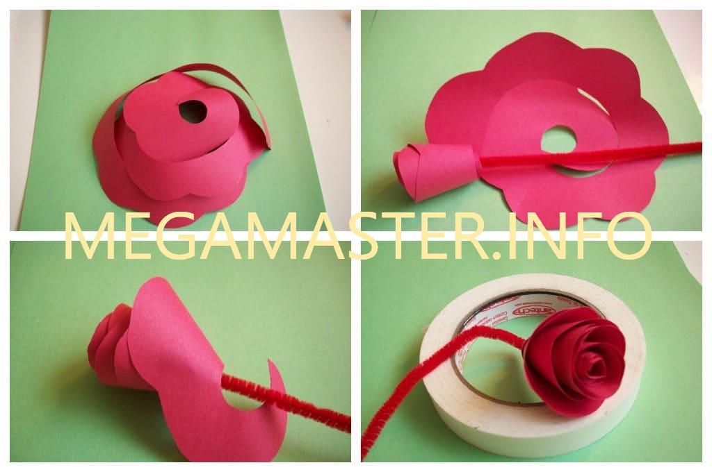 Роза. Простой способ (2)