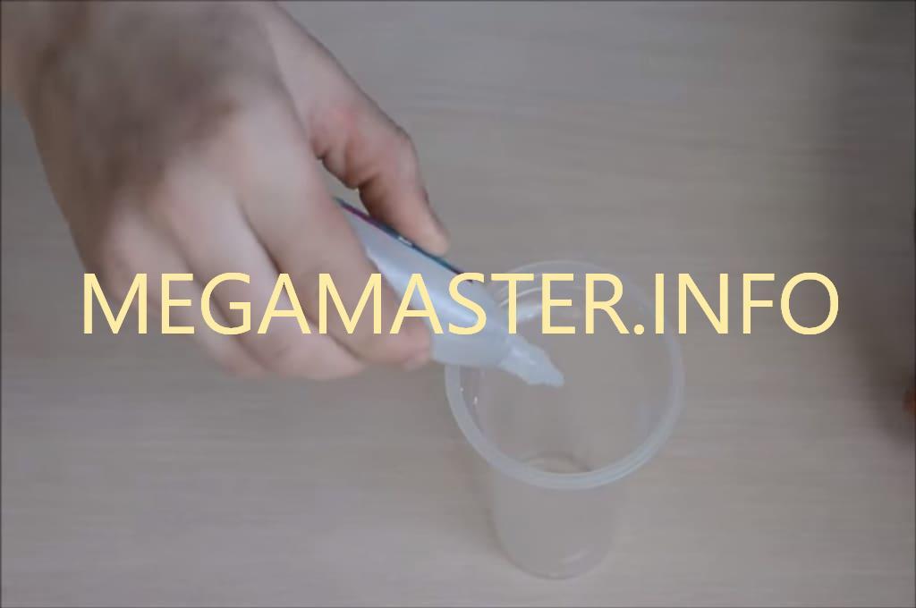 Тетраборат из соды. Наливаем борную кислоту