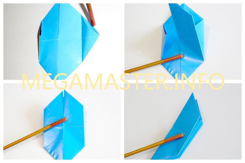 Голубь оригами (Шаг 3)