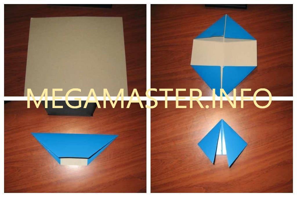 Хлопушка оригами (Шаг 1)