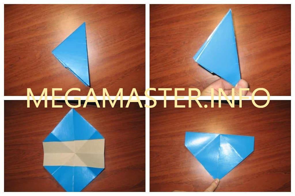 Хлопушка оригами (Шаг 2)