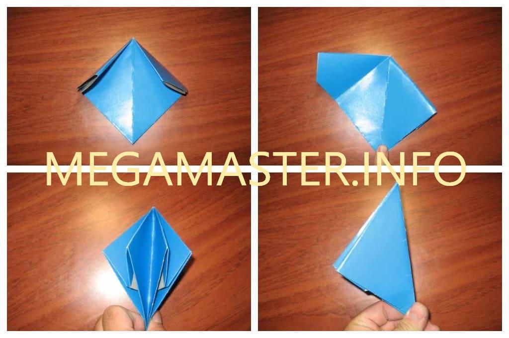 Хлопушка оригами (Шаг 3)