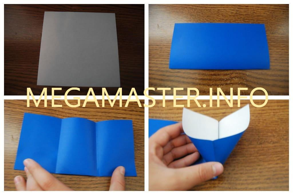 Кошелек оригами (Шаг 1)