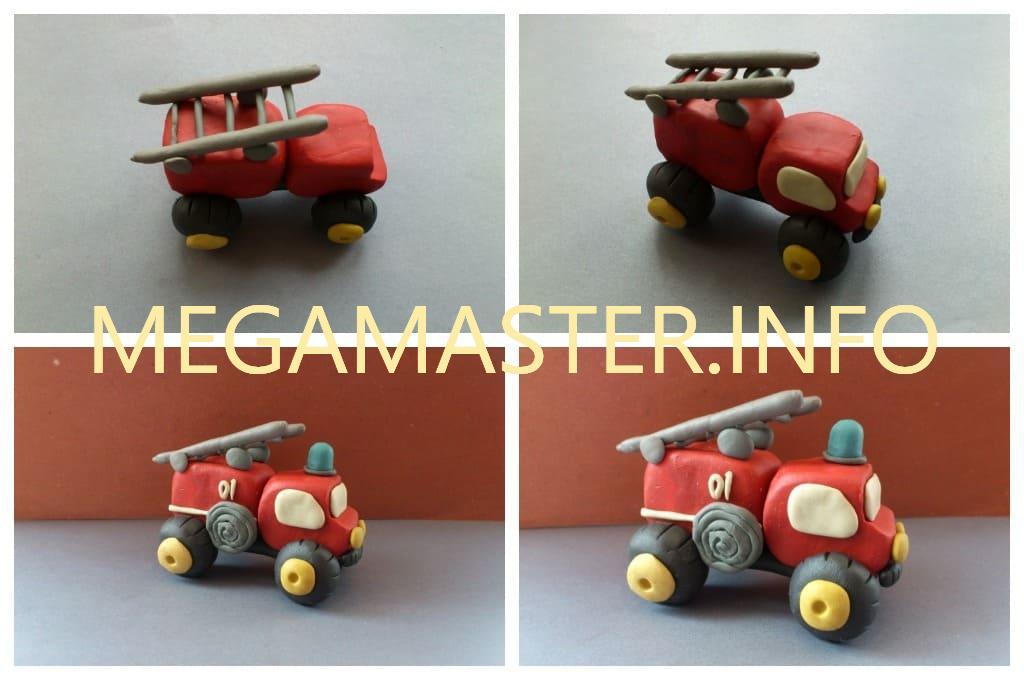 Машина пожарников (Шаг 3)