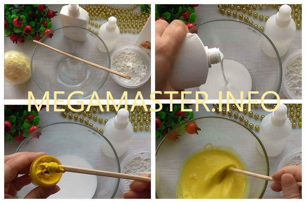 Необычный лизун из пластилина (Шаг 1)