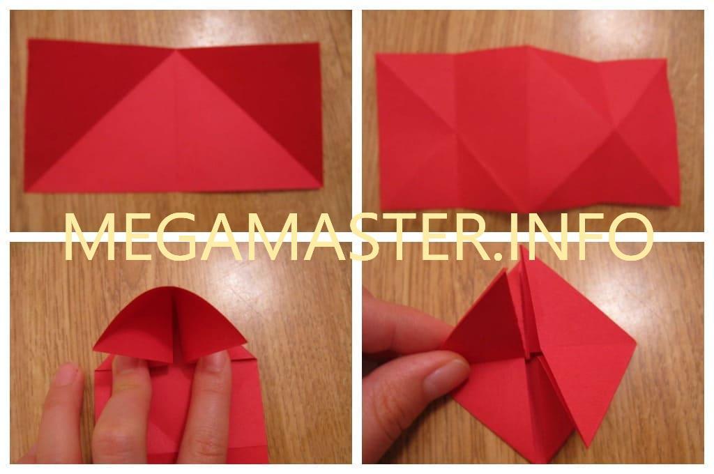 Объемное бумажное сердце (Шаг 1)