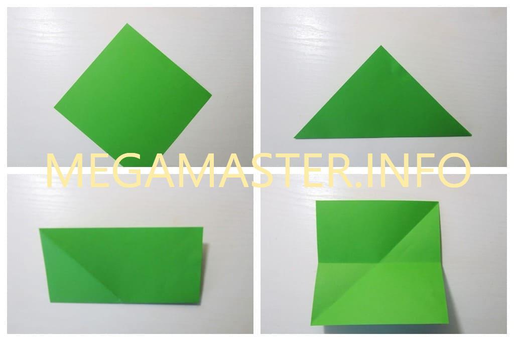 Парусник из бумаги (Шаг 1)