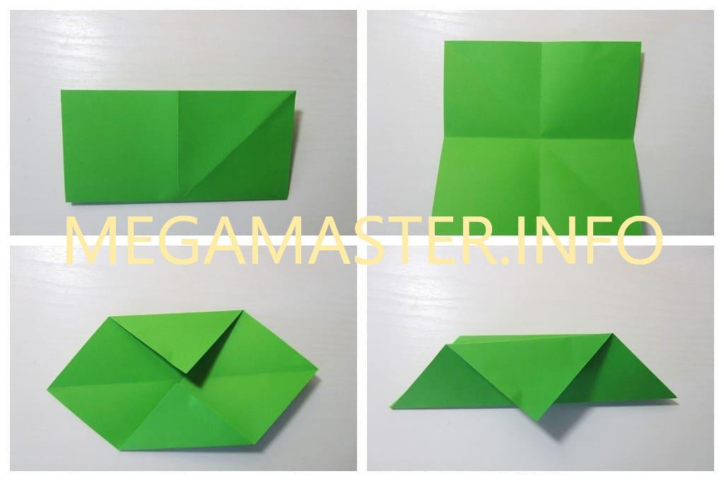 Парусник из бумаги (Шаг 2)