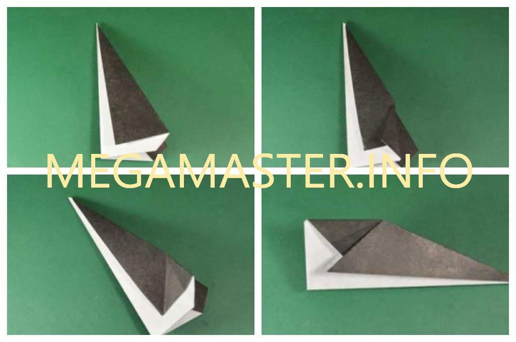 Пигвин оригами (Шаг 2)