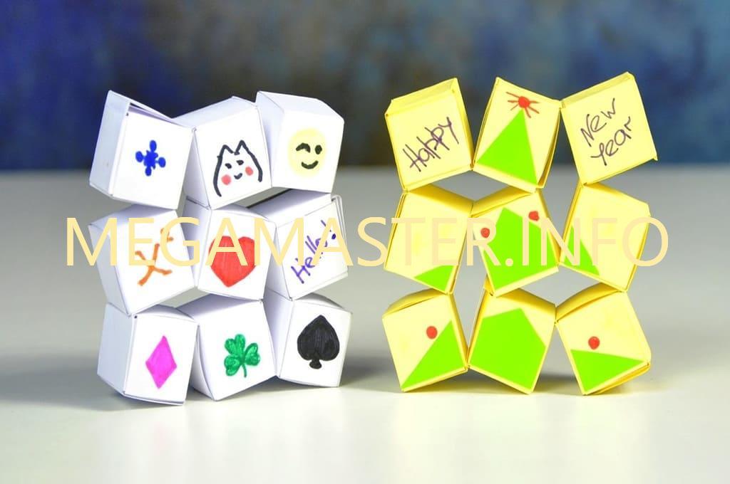 Пример кубика головоломки
