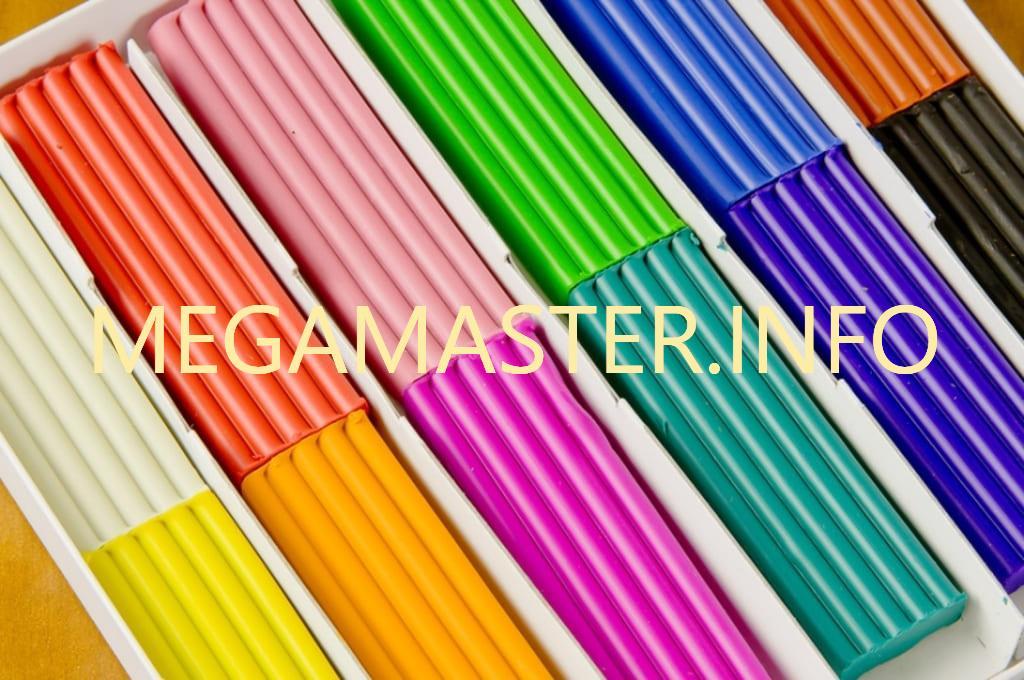 Пластилин для приготовления слайма