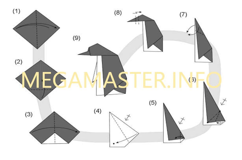Схема пингвина