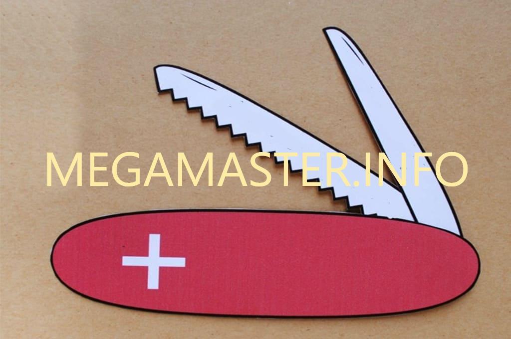 Швейцарский бумажный нож