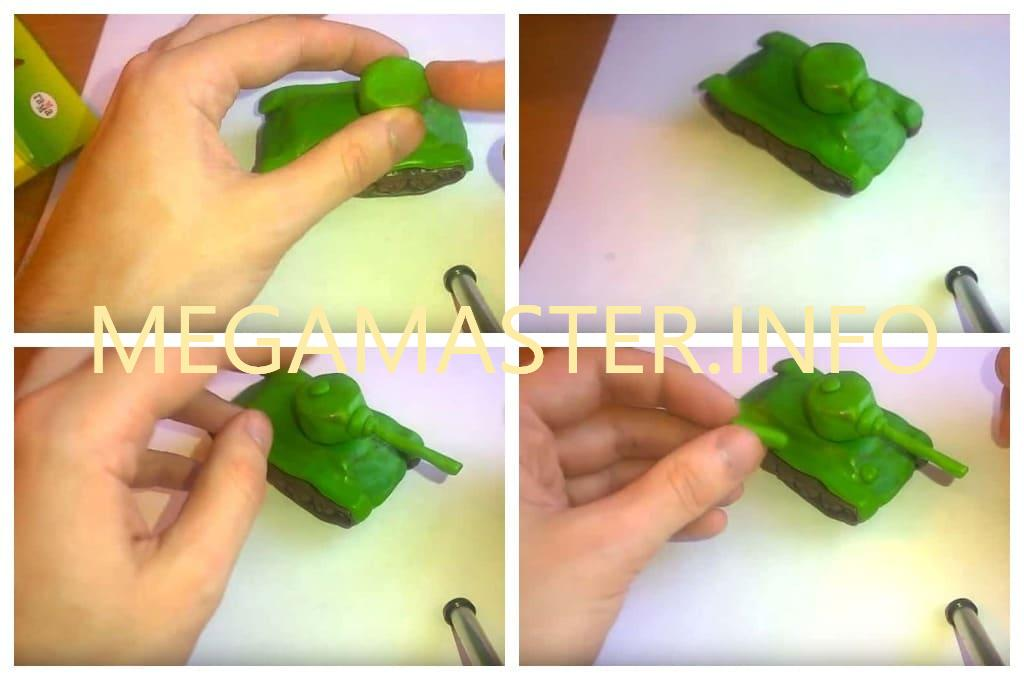 Упрощенный танк (Шаг 4)