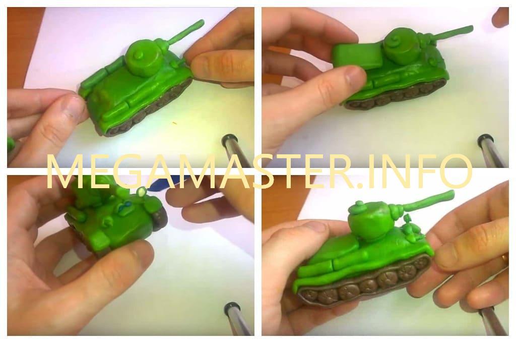 Упрощенный танк (Шаг 5)