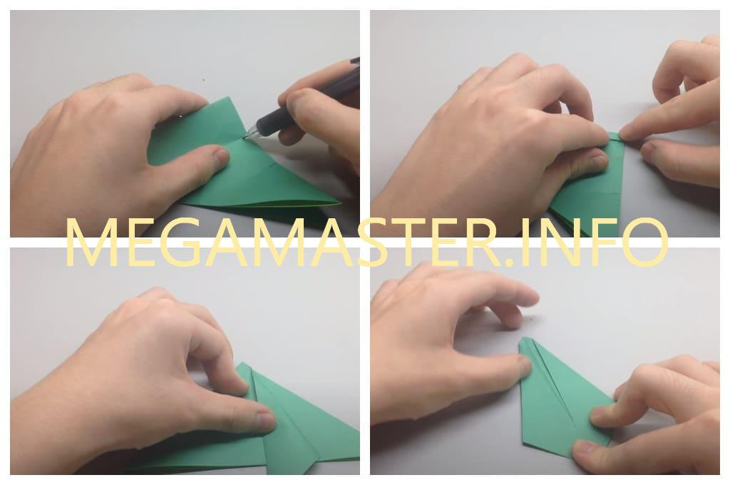 Оригами черепаха (Шаг 3)