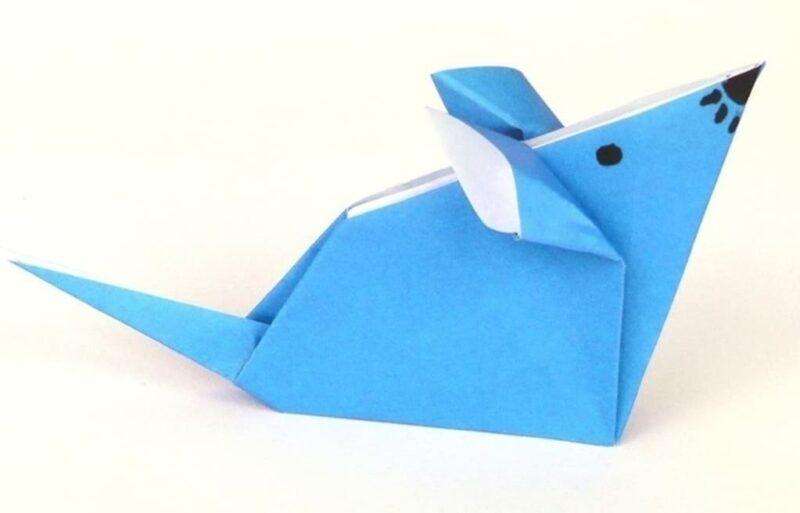 Оригами из бумаги схемы для начинающих 1