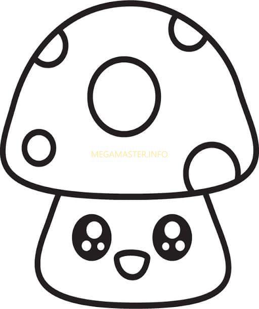 Шаблон грибок антистресс