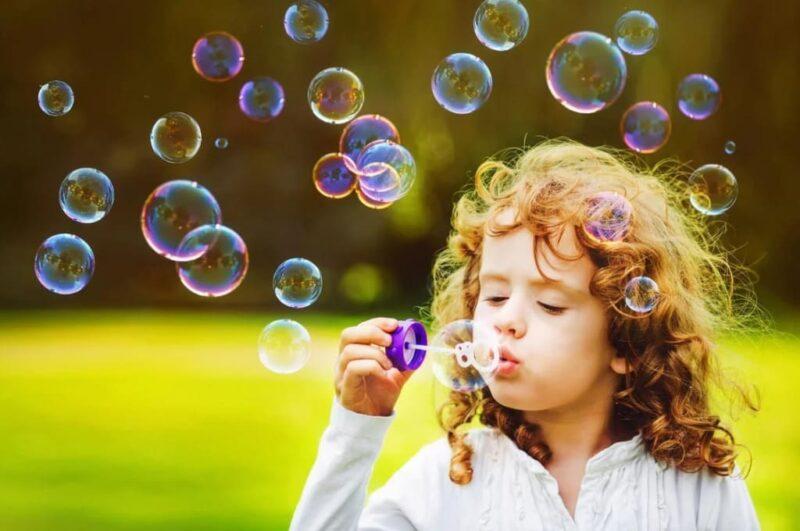 Как сделать мыльные пузыри в домашних условиях