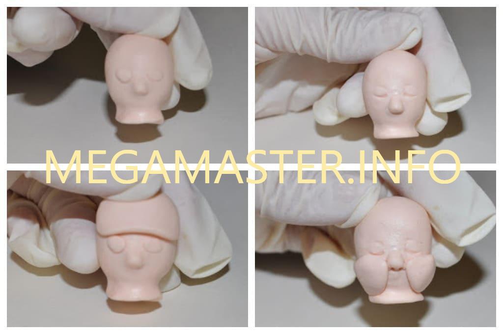 Малыш из полимерной глины (Шаг 2)