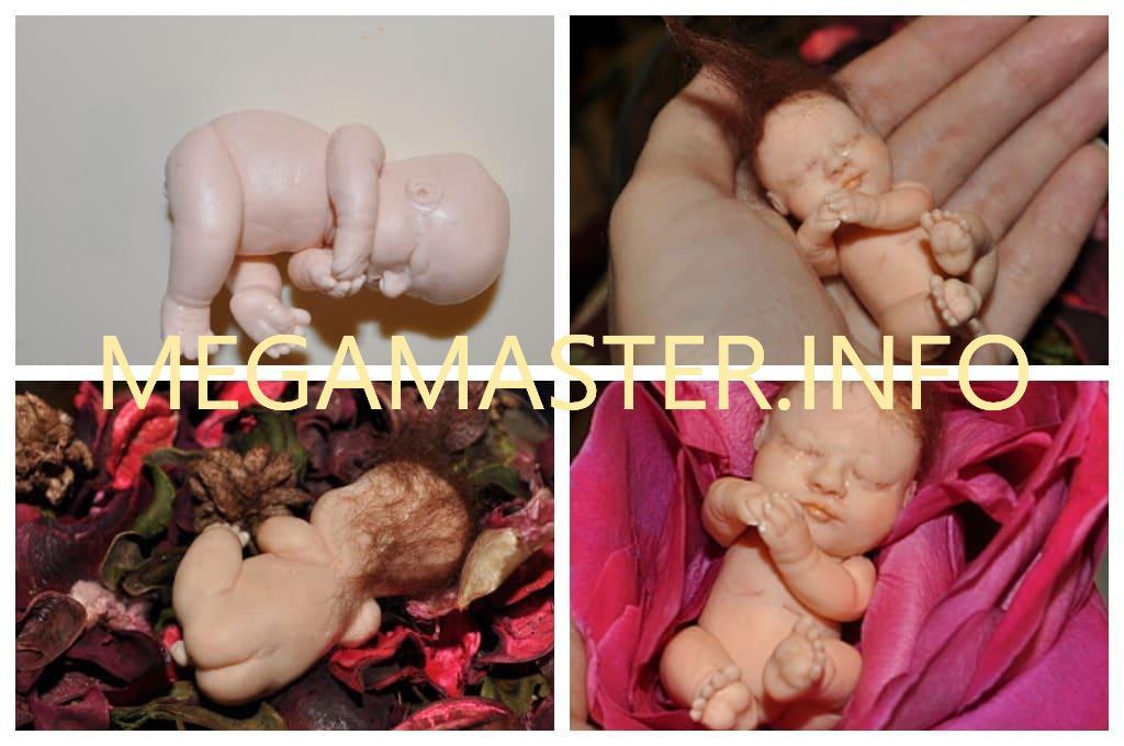 Малыш из полимерной глины (Шаг 7)