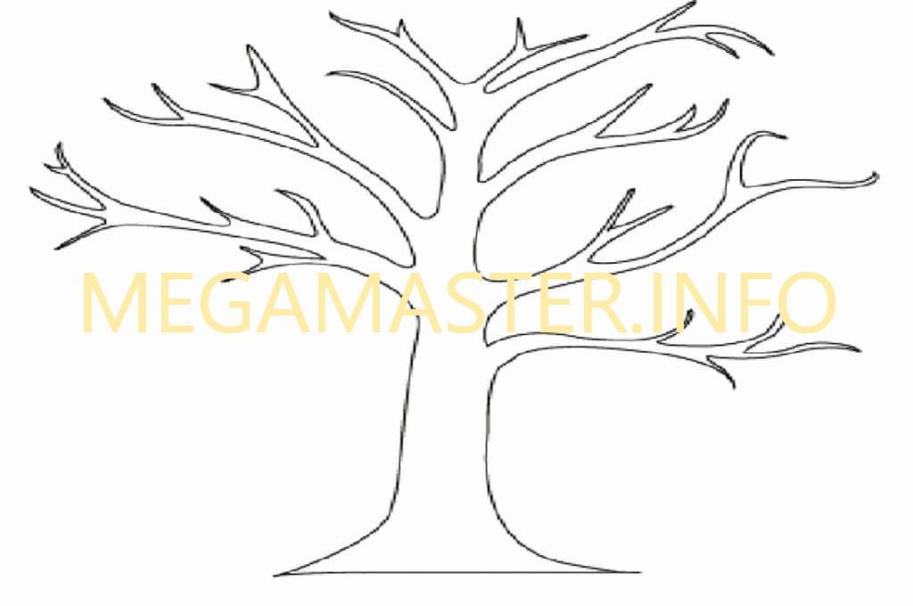 Шаблон для дерева