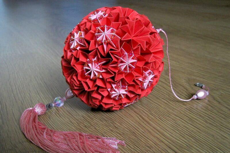 Как сделать шар кусудама для начинающих