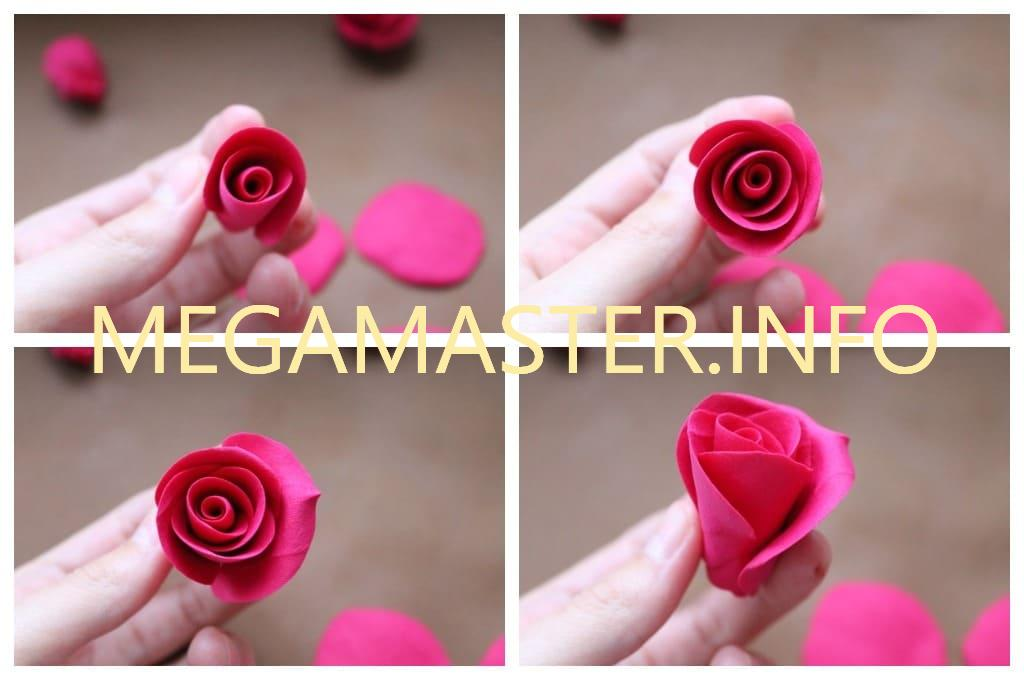 Роза средних размеров (Шаг 2)