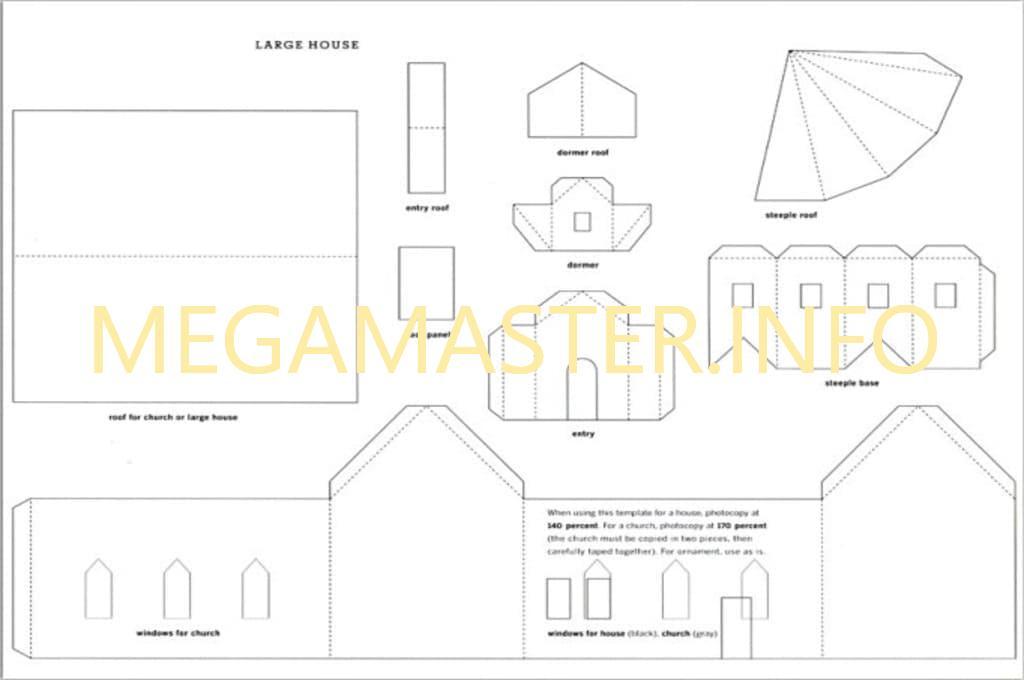 Схема новогоднего дома (2)