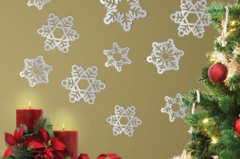 Снежинки из бумаги шаблоны для вырезания