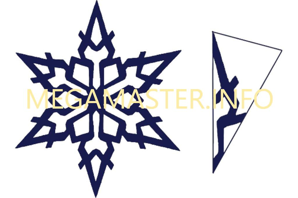 Усложненные снежинки (4)