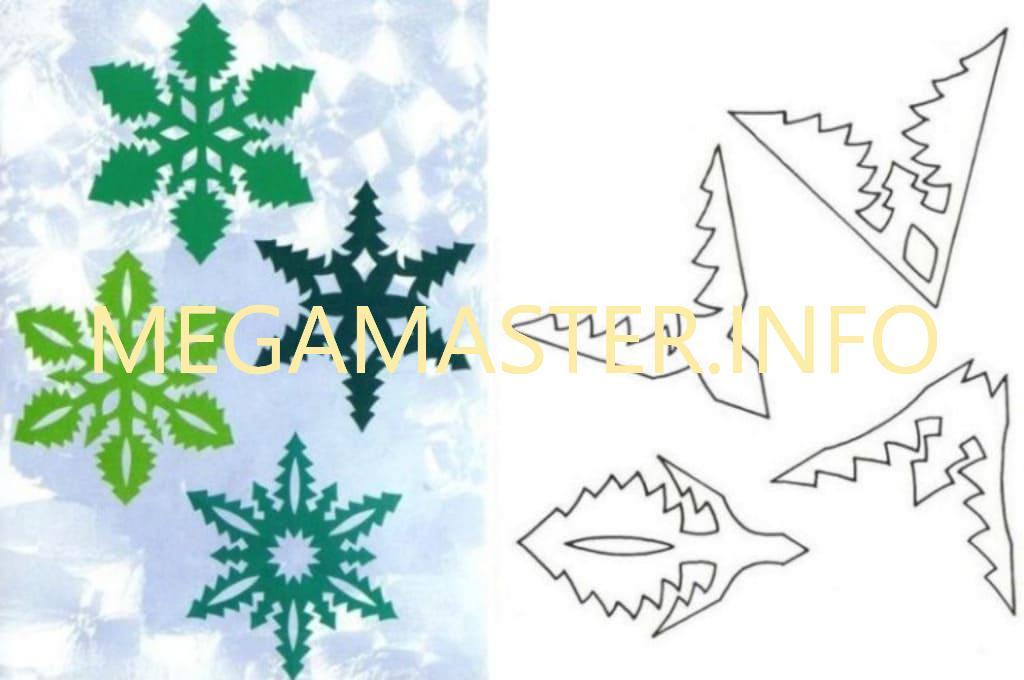Ажурные сложные снежинки (11)