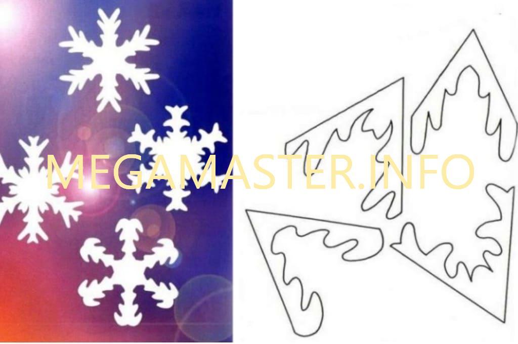Ажурные сложные снежинки (3)