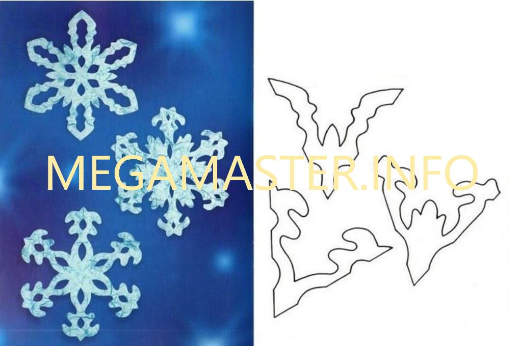 Ажурные сложные снежинки (5)
