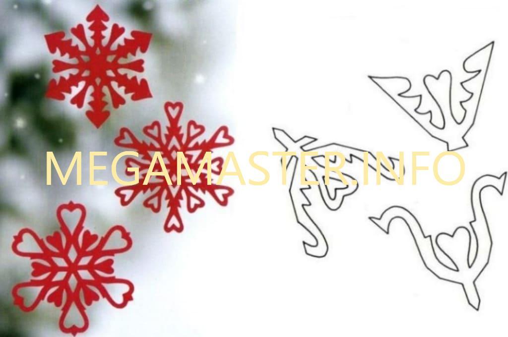 Ажурные сложные снежинки (6)