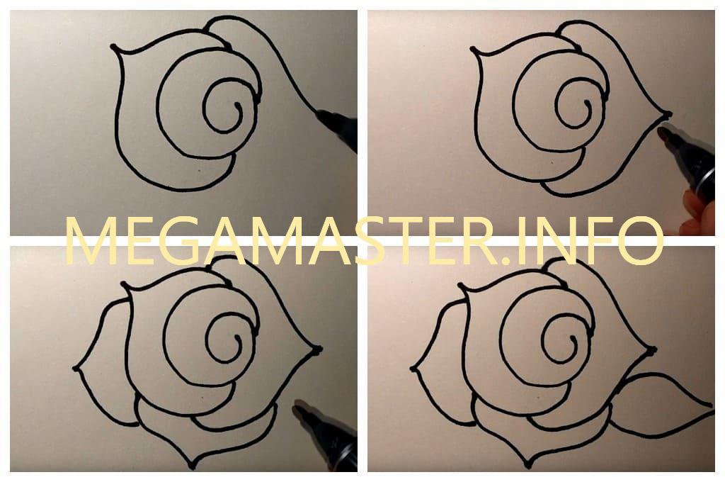 Быстрая роза (Шаг 2)