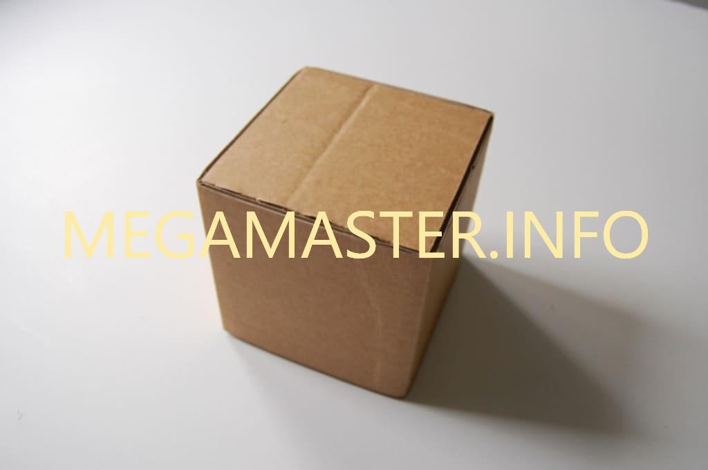 Готовый куб из картона