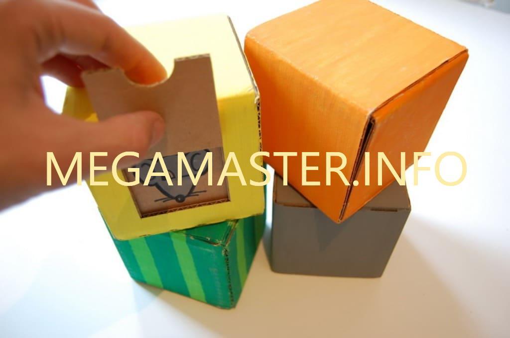 Изготовление детский кубиков