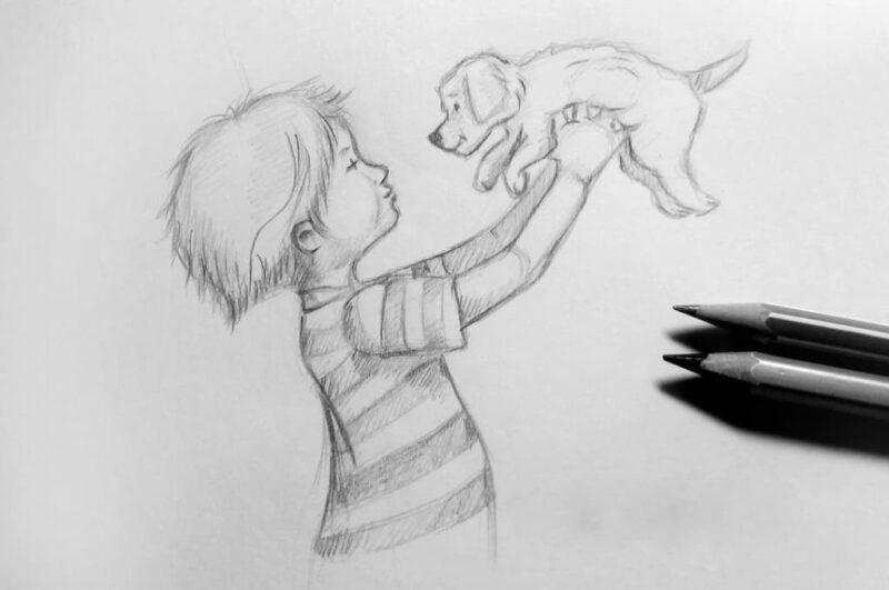 Как нарисовать человека поэтапно карандашом