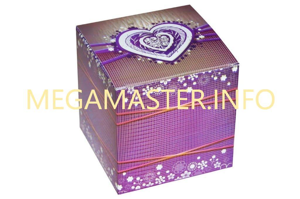 Куб для подарка
