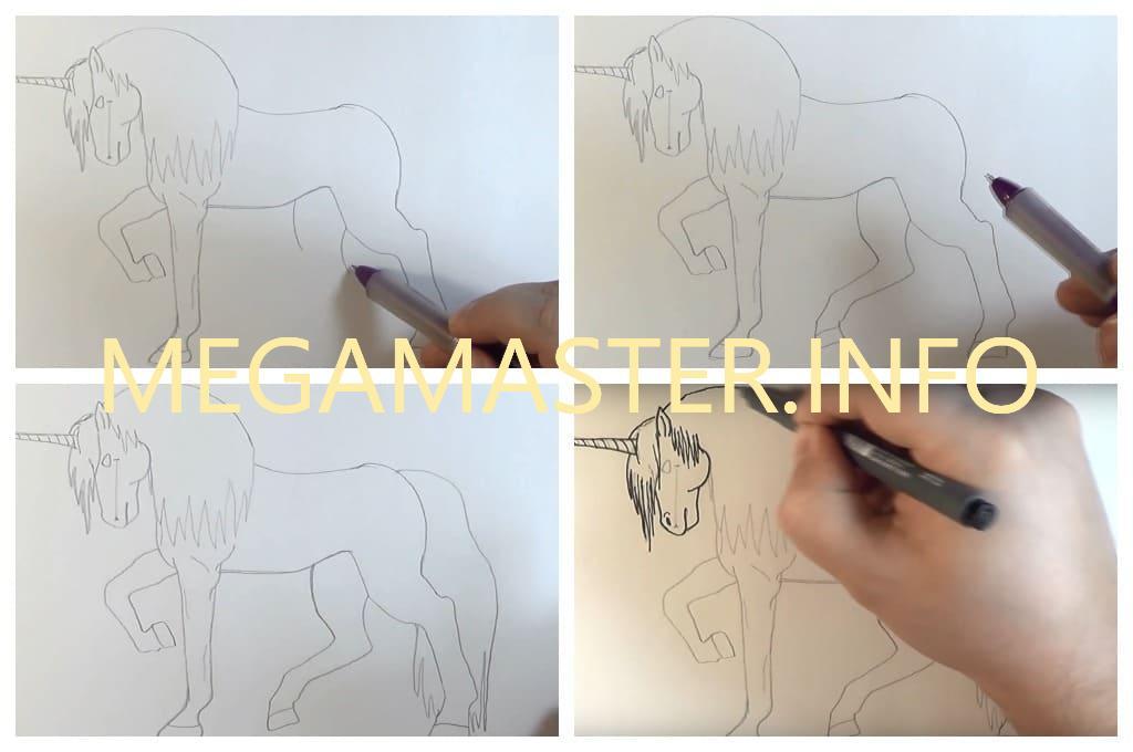 Рисование карандашом (Шаг 4)