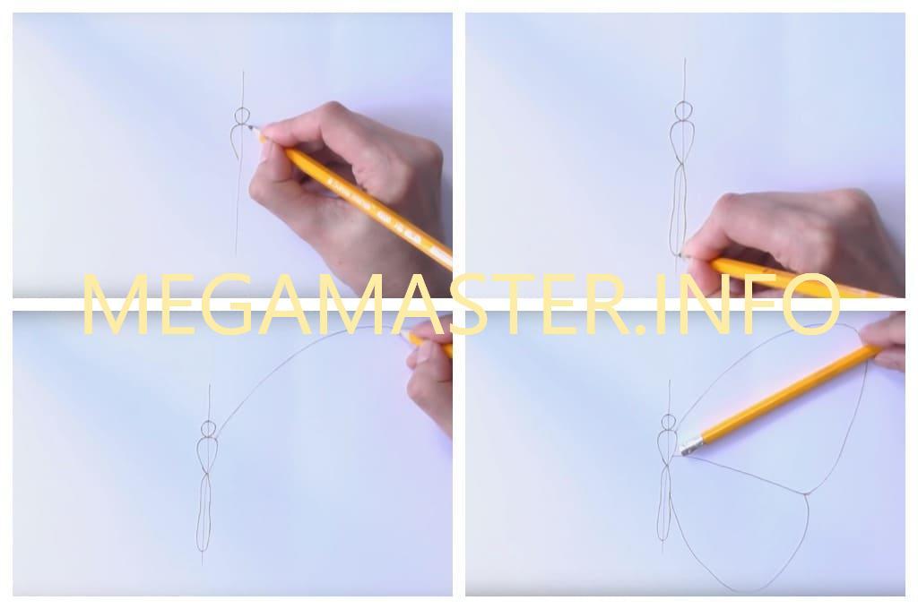 Рисуем карандашами (Шаг 1)
