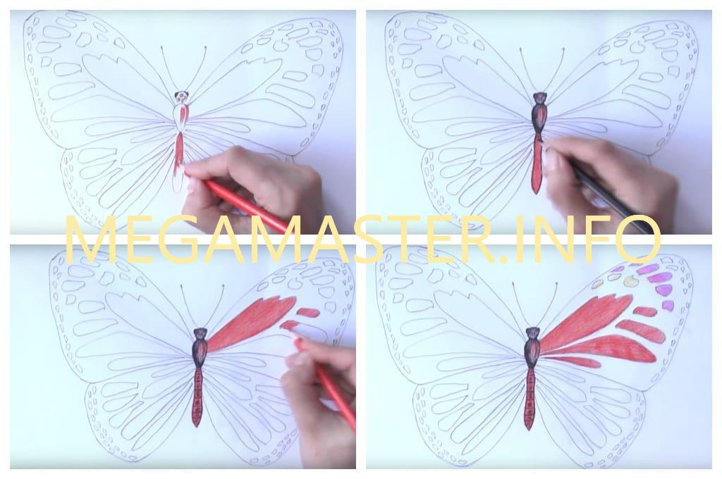Рисуем карандашами (Шаг 4)
