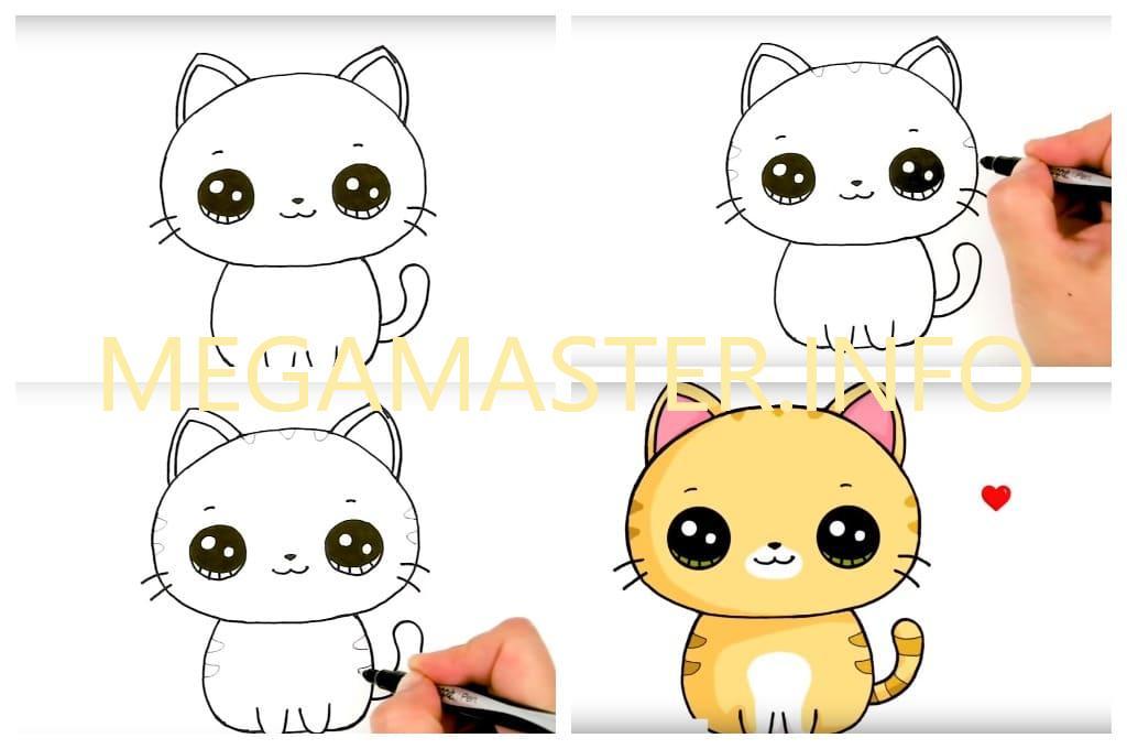 Рисуем кошку за пять минут (Шаг 3)