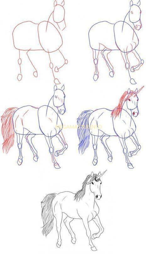 рисунок единорога (1)