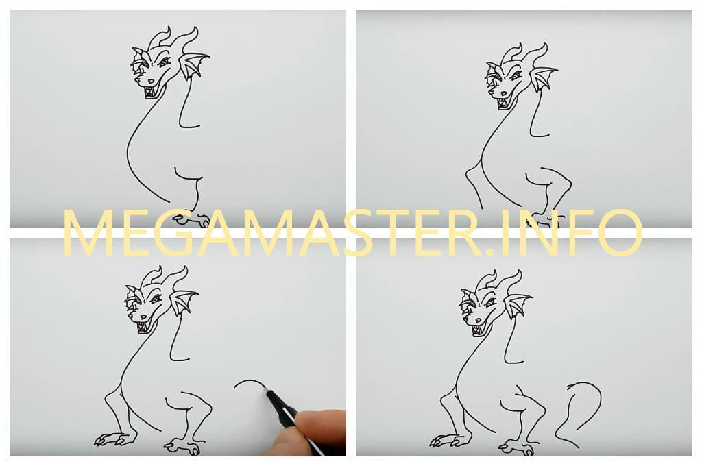 Большой дракон (Шаг 3)