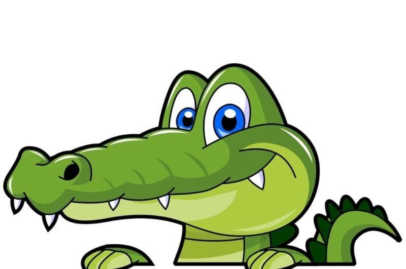 Как нарисовать крокодила карандашом поэтапно для детей
